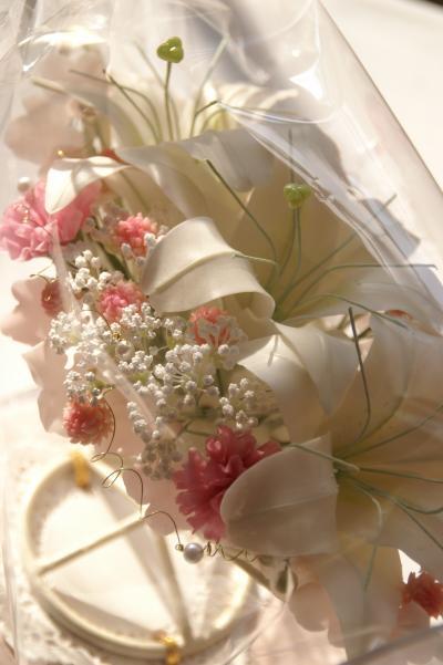 樹脂粘土花