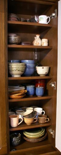掃除リスト 食器棚上段2