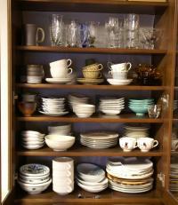 掃除リスト 食器棚上段3