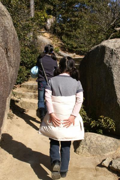 厳島神社 弥山 おしり