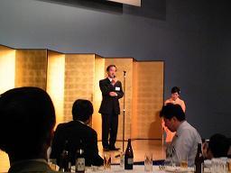20101114藤上先生祝勝会