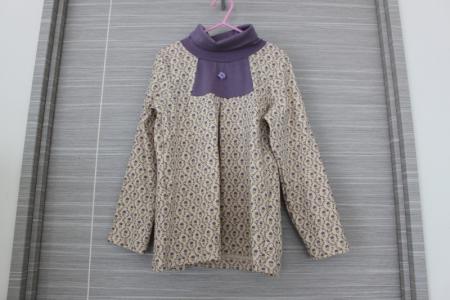 カットソー紫2