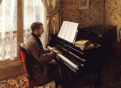 Caillebotte_Playing the Piano