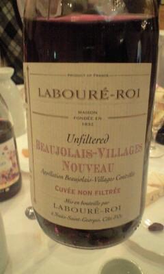 2009 Laboure-Roi Beaujolais Nouveau ラブレ・ロワ