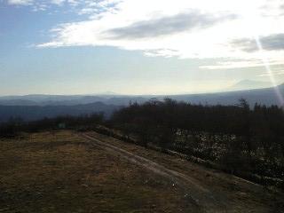 岩手山と姫神山