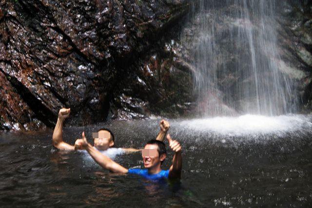 払沢の滝4