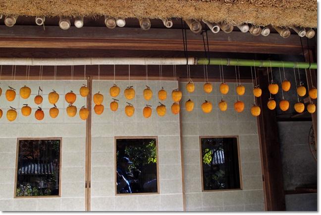 足助屋敷の干し柿