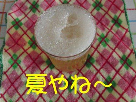 お姉作 食べるビール_sh01.JPG