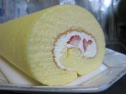 ふわふわロールケーキ♪