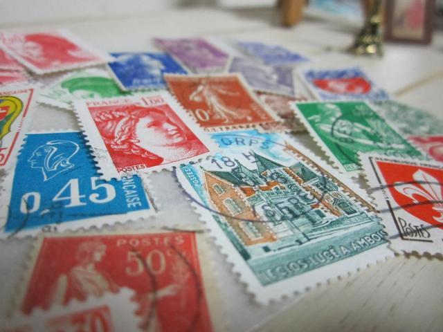 フランスの切手