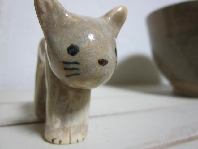 陶芸にゃんこ