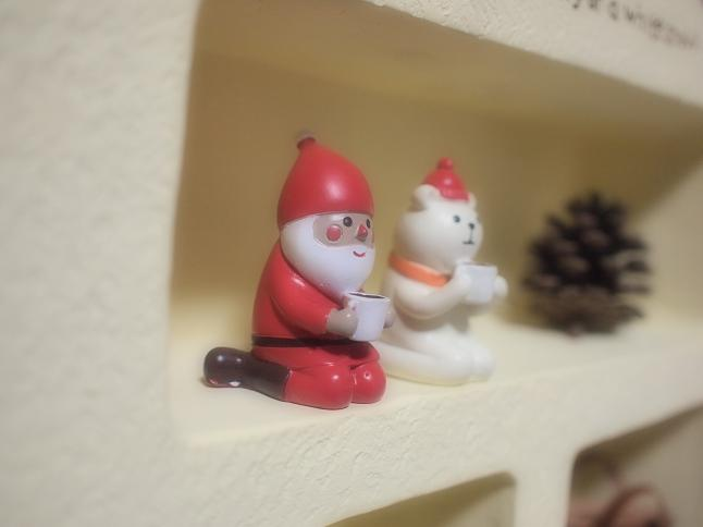 サンタさんとくまちゃん