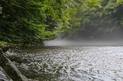 内宮前の川