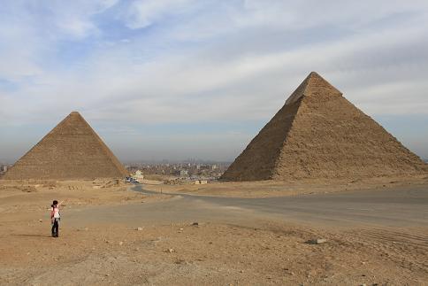 二つのピラミッド