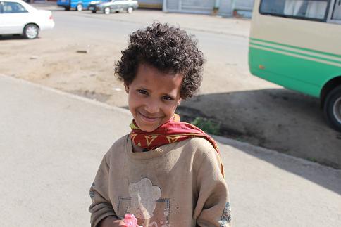 エチオピアの子ども