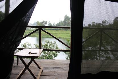 キャンプからの景色