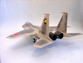 F-15を後ろから見たところ