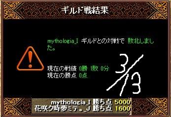 3月13日対mythologiaGv結果