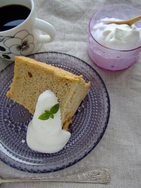 Grapponia×chiffon-cake