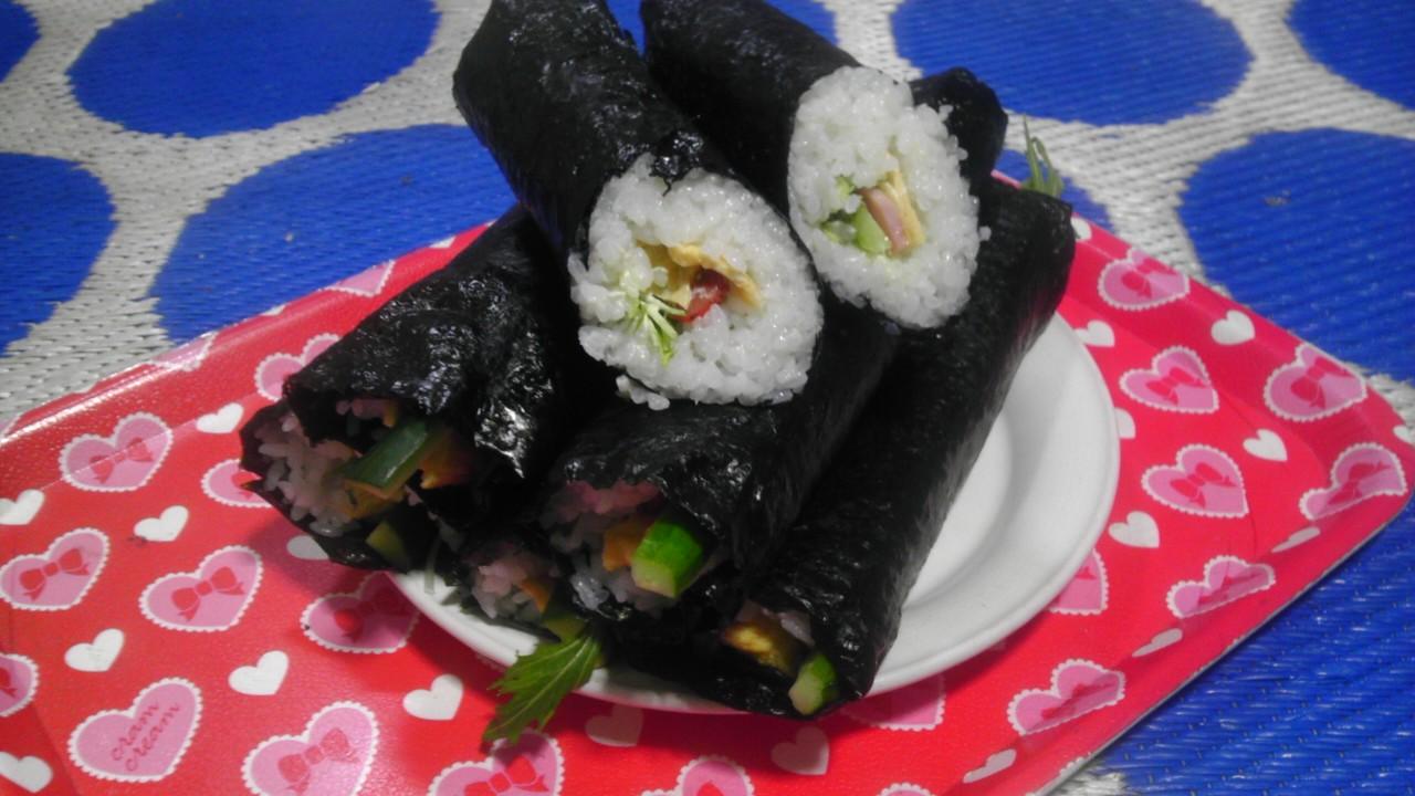 2013年2月3日巻き寿司