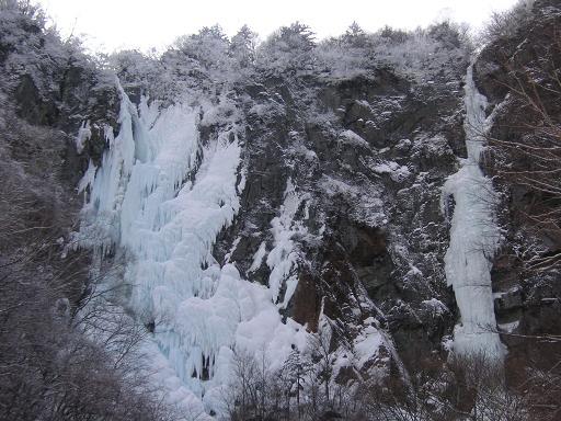 不動滝と黒滝