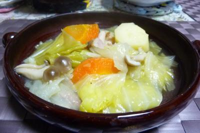 キャベツのスープに