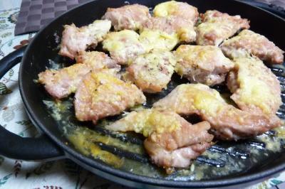 チキンのチーズ焼き