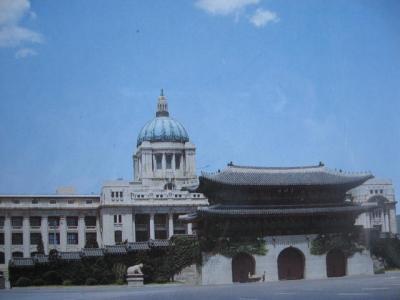 光化門と国立中央博物館