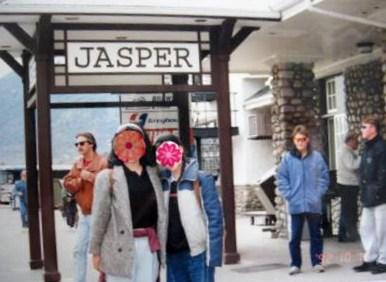 ジャスパー駅ホーム