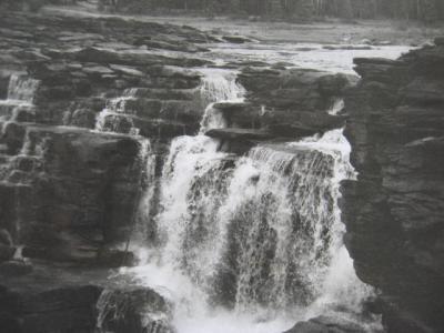 アサバスカ滝1