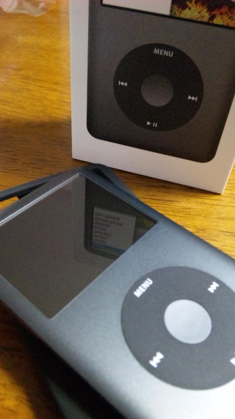 ipod classic(160GB)black