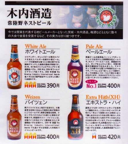 世界が認めた日本の地ビール<常陸野ネストビール>木内酒造