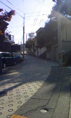 塩釜口の坂道1