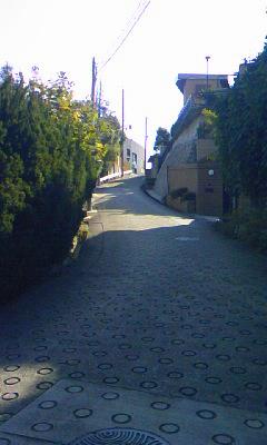 塩釜口の坂道3