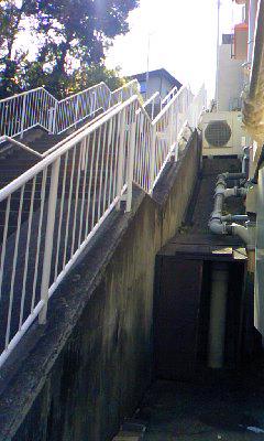 塩釜口の階段
