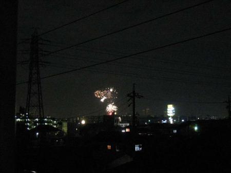 矢田川の花火3