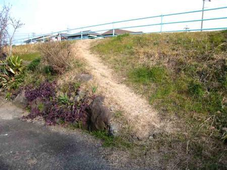 勝川近辺の坂道 短い坂