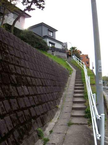 有松の階段坂