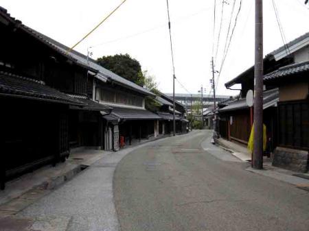 有松の古い街並