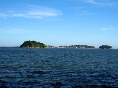 日間賀島 南川 篠島方向