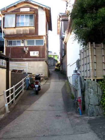 日間賀島 坂道5