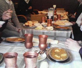 インダス内のテーブル