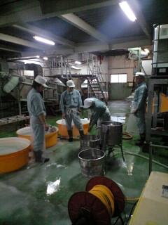 杜の蔵洗米