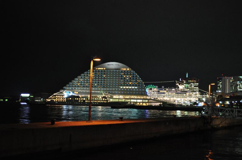神戸 神戸港 夜景