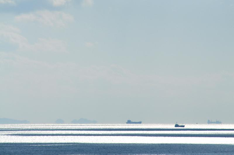 鳴門公園 渦の道 海の風景