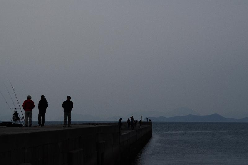 今治市 菊間町 海の風景