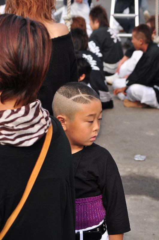 川之江秋祭り JAうま 子ども
