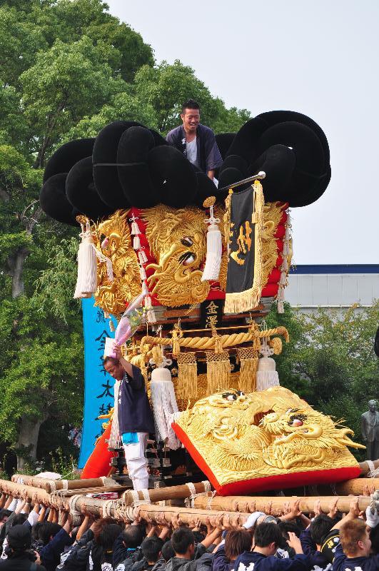 川之江秋祭り JAうま 金澤太鼓台