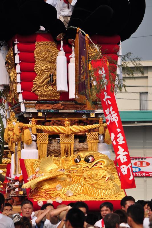 川之江秋祭り JAうま 住吉町太鼓台
