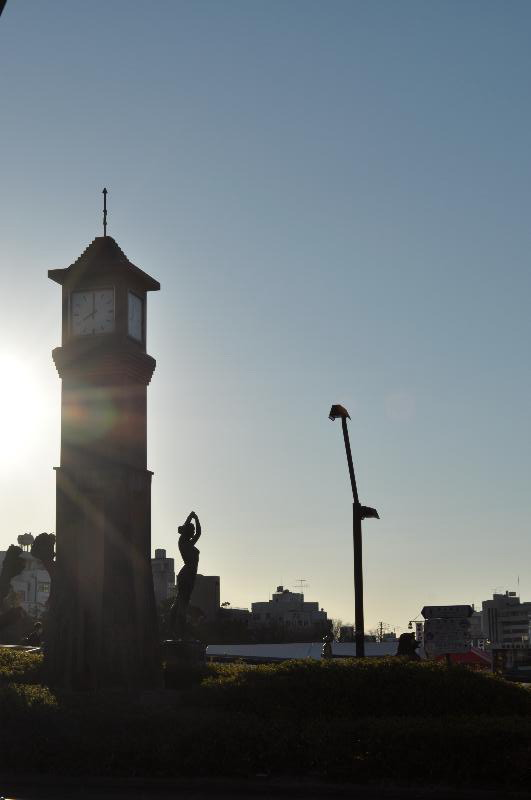 徳島市藍場町 新町川周辺 風景